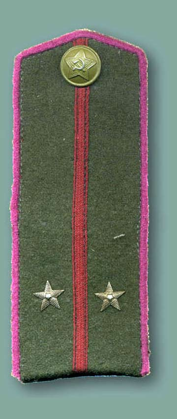 Погон лейтенанта пехоты